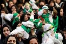 لالایی مادران زنجانی برای سرباز 6 ماهه کربلا