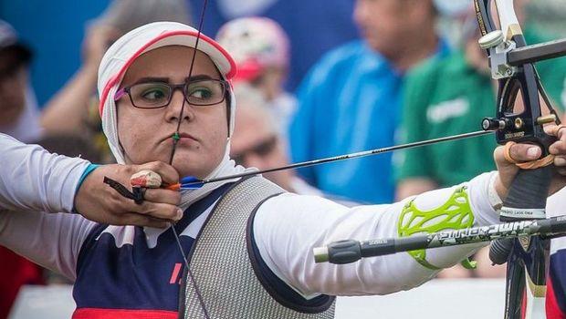 زهرا نعمتی مدال نقره بازی های پاراآسیایی جاکارتا را کسب کرد
