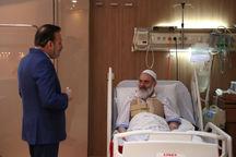 آیت الله حسینی بوشهری بزودی از بیمارستان مرخص میشود