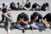 21 سارق در مشهد دستگیر شدند