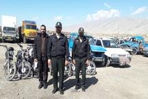 هفت دستگاه موتورسیکلت و خودرو سرقتی در پلدختر کشف شد