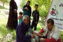 اعزام دومین کاروان سلامت هلال احمر به منطقه محروم آجم در کهگیلویه
