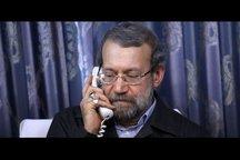 گفتوگوی تلفنی لاریجانی با ناطق نوری