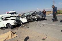حادثه رانندگی در جاده غرق آباد چهار کشته برجا گذاشت
