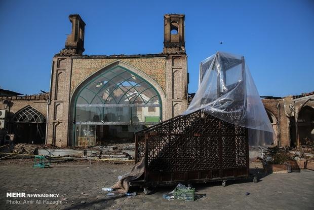 مسجد جامع ساری چقدر آسیب دید؟