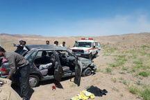 واژگونی خودرو در سبزوار پنج مصدوم داشت