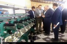 کارخانه ریسندگی و رنگرزی نخ ورامین افتتاح شد