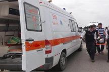 هشت نفر در حادثه رانندگی در قزوین مجروح شدند