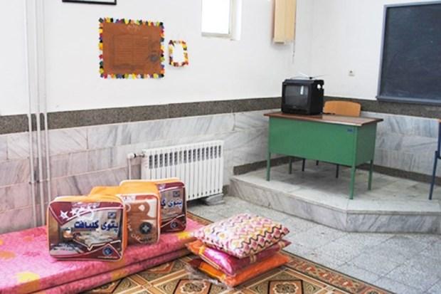 37 هزار مسافر نوروزی در مدارس لرستان اسکان یافتند