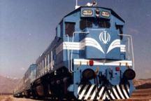 نخستین قطار باری وارد همدان شد