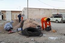 بهرهبرداری از طرح گازرسانی به 23 روستای شهرستان لامرد در دهه فجر