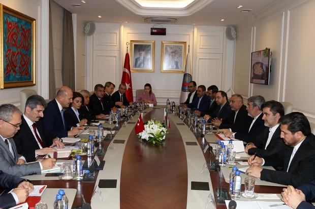 برگزاری نشست هیئتهای عالیرتبه وزارت کشور ایران و ترکیه