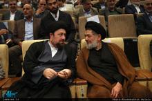 حضور سید حسن خمینی در نخستین کنگره حزب مجمع ایثارگران-1