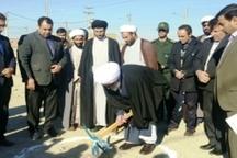 کلنگ احداث حوزه علمیه خواهران مهران به زمین زده شد