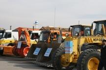 14 دستگاه ماشین آلات راهداری آذربایجان شرقی به لرستان اعزام شد