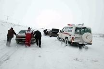 برف مسیر بجنورد - اسفراین را بست