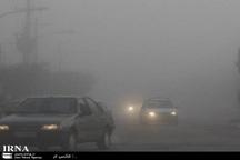 مه غلیظ موجب محدودیت دید در آزاد راه شهید شوشتری مشهد شد