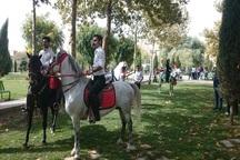 نخستین همایش سوارکاری در مهاباد برگزار شد