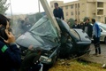 مرگ مرد جوان در تصادف خودروی سمند