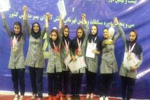 دانش آموزان ژیمناستیک کار البرز نایب قهرمان شدند