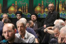 مراسم عزاداری صبح عاشورای حسینی در حسینیه جماران