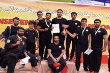تیم قم عنوان سوم دفاع شخصی قهرمانی کشور را کسب کرد