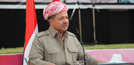 بارزانی: پیشمرگ ها در نبرد موصل به دور از رویکردهای حزبی مشارکت می کنند