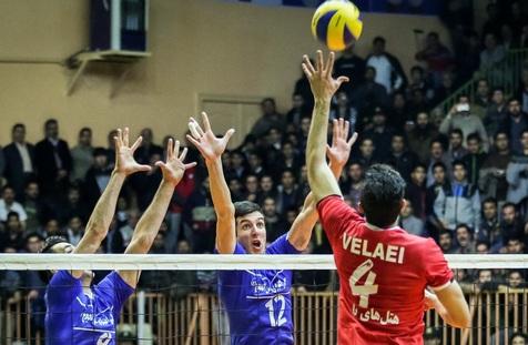 پیروزی مهم پیکان بر شهرداری ارومیه در پلیآف لیگ برتر والیبال