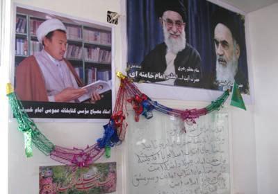 کتابخانه حضرت امام خمینی(س) در غرب کابل افتتاح شد
