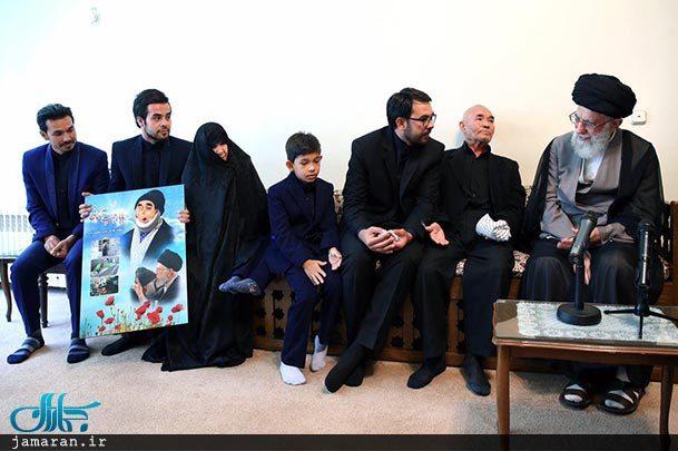 خانواده های شهدا مظهر انقلاب اسلامی هستند+ عکس
