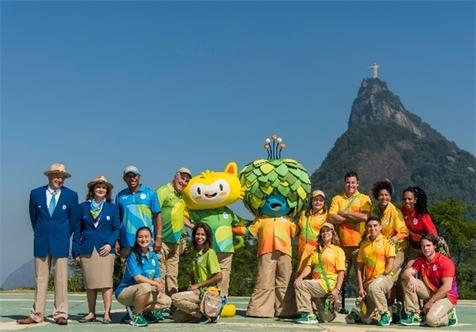 تزئین شهر ریو با آرم المپیک + تصاویر
