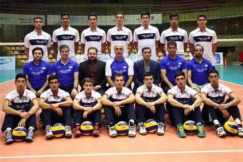 تیم والیبال زیر ۱۹ سال ایران قهرمان تورنمنت ایتالیا شد