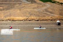 حضور یک گیلانی در اردوی تیم ملی قایقرانی روئینگ