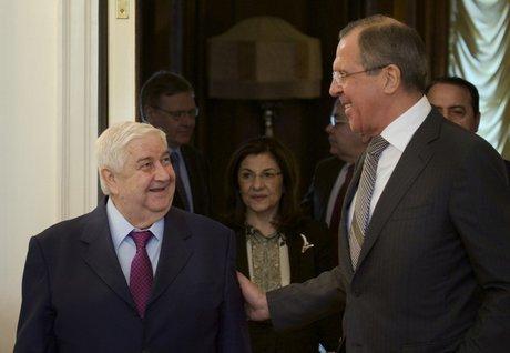 لاوروف در حاشیه نشست مجمع عمومی با المعلم دیدار می کند