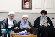مرحوم آیت الله انصاری شیرازی به روایت تصویر