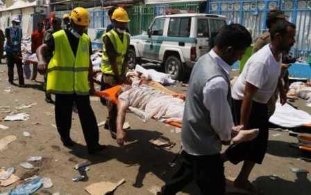 45 قربانی فاجعه منا شناسایی شدند