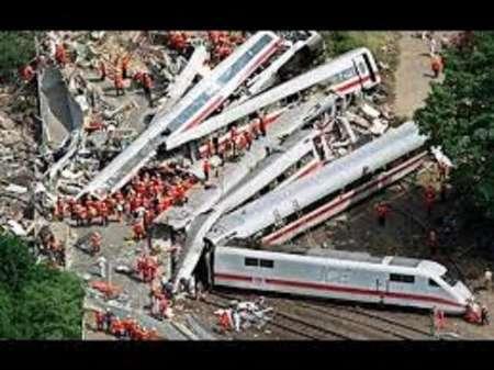 تازه ترین آمار تلفات تصادم دو قطار مسافری آلمان
