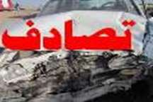 تصادف زنجیره ای در آزادراه تهرا ن -کرج یک کشته برجای گذاشت