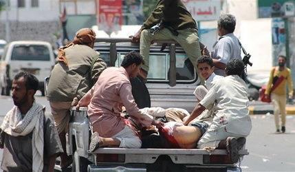 شکست هواپیماهای جنگی عربستان در بمباران اهداف مورد نظر در صنعا