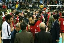 تیم والیبال شهرداری ارومیه محروم شد
