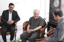 عیادت مدیرکل میراث فرهنگی استان از پیشکسوت عکاسی
