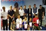 میاندوآب قهرمان مسابقات بوکس چهار جانبه آذربایجان غربی شد