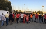 حاشیه بازی پرسپولیس و صنعت نفت/ سناریو تکراری تماشاگران بدون بلیت بیرون ورزشگاه آزادی!