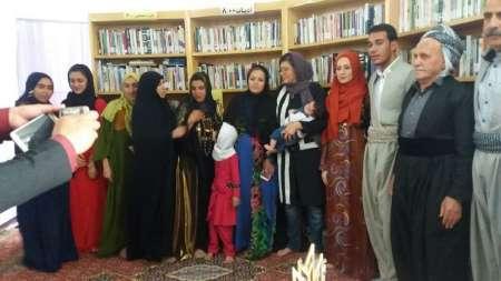 تکریم کتاب با برگزاری آیین عقد در کتابخانه