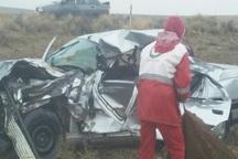 واژگونی خودرو در  قوچان قربانی گرفت