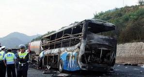 تصادف اتوبوس ورزشکاران در مغرب 31 کشته برجای گذاشت