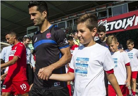 شجاعی نامزد بهترین بازیکن و زیباترین گل هفته دوم سوپر لیگ یونان