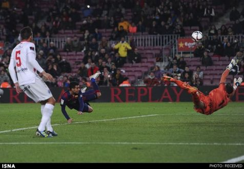 بارسلونا به مرحله بعدی جام حذفی صعود کرد