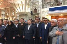 وزیر کار با آرمانهای امام راحل تجدید میثاق کرد