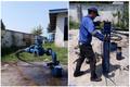 افزایش دبی و فشار شبکه آب لولمان با نصب یکدستگاه پمپ 15 کیلووات